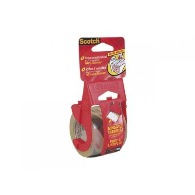 Scotch transparante tape: Verpakkingstape EasytoStart transp+disp.