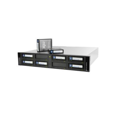 Overland-tandberg tape autoader: RDX QuikStation 8 - Zwart, Wit