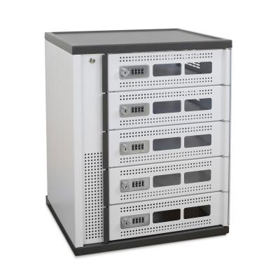Ergotron DM05-1025-A68-2 Portable device management carts & cabinet - Zwart, Grijs