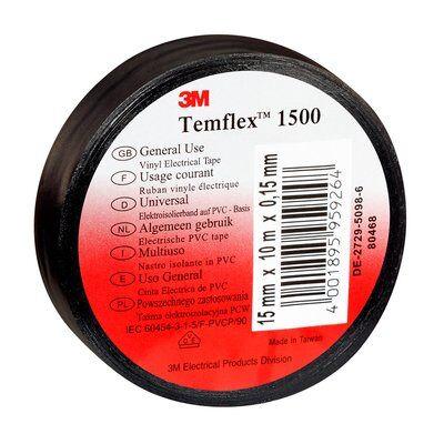 3M Temflex 1500 - Zwart