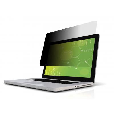 3m schermfilter: PFMP13 MacBook Pro Black Privacy Filter - Zwart