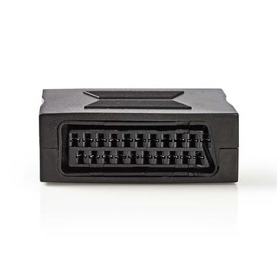 Nedis SCART-Adapter, SCART Female - SCART Female, Zwart Kabel adapter