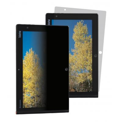 Lenovo schermfilter: 3M ThinkPad Tablet 2 Privacy Filter from - Portrait Orientation