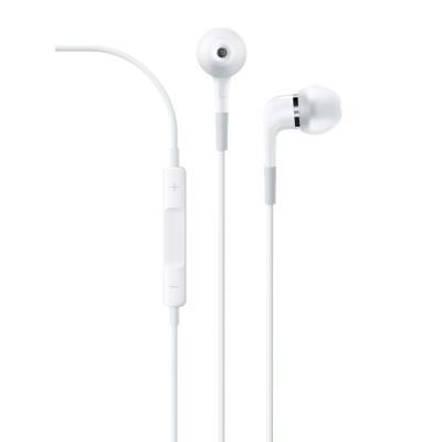 Apple headset: 5 Hz - 21 kHz, 23 Ohm, 109 dB, 3.5 mm, 10.2 g, Wit