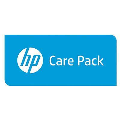 Hp garantie: 2 jaar Service Plan met standaard Exchange - voor Color LaserJet MFP printers