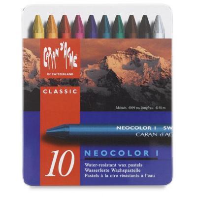 Caran d-ache pastel: NEOCOLOR I - Blauw
