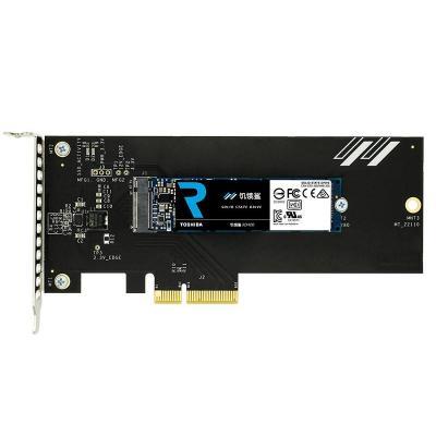 Toshiba SSD: RD400A - Zwart, Zilver