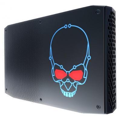 Intel barebone: NUC NUC8i7HVK - Zwart