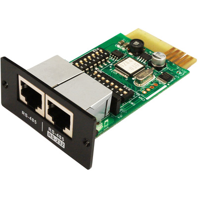 PowerWalker Modbus Card 2, Provides a pair of RJ-45 interface (RS232 and RS485) Interfaceadapter - .....
