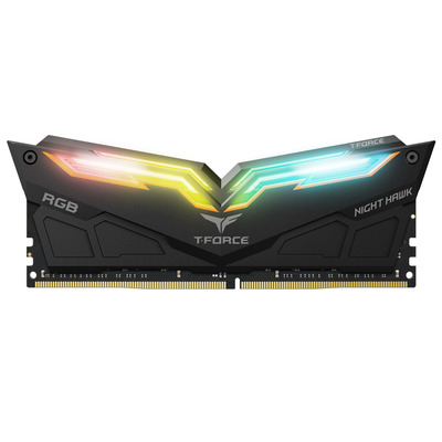 Team Group Night Hawk RGB RAM-geheugen - Zwart