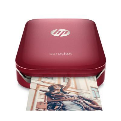 HP Sprocket fotoprinter - Rood