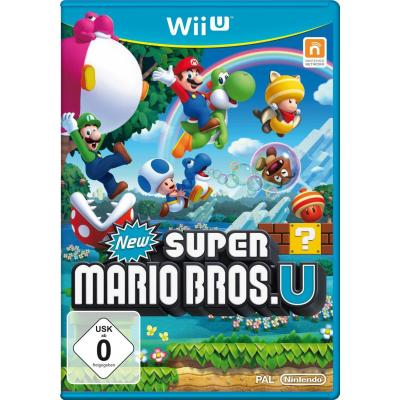 Nintendo game: New Super Mario Bros U