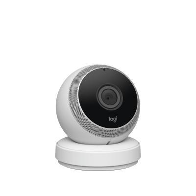 Logitech beveiligingscamera: Circle - Wit