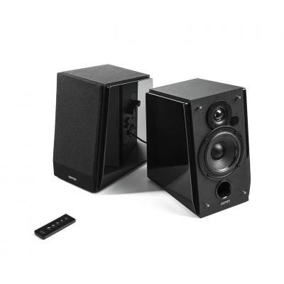 Edifier Speaker: RMS 16Wx2 + 19Wx2, 85dBA, PC: 700±50mV, AUX: 550±50mV, 154x254x224 mm - Zwart