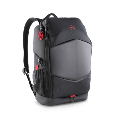 DELL Pursuit Backpack Laptoptas - Zwart, Grijs, Rood