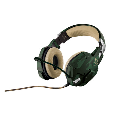 Trust GXT 322C GAMING HDST-CAMO Headset - Groen