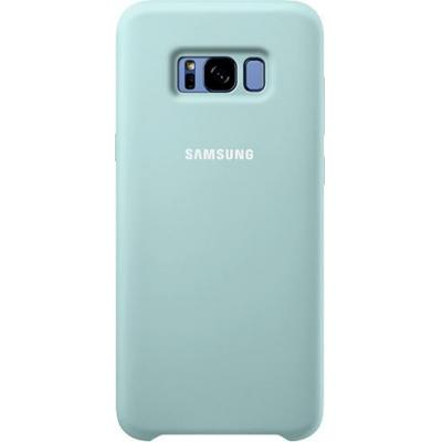 Samsung mobile phone case: Galaxy S8+ Silicone Cover Blauw