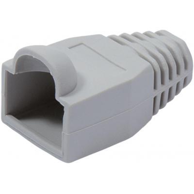 Value RJ-45 connector, grey, 10 pcs Electrische connectordop - Grijs