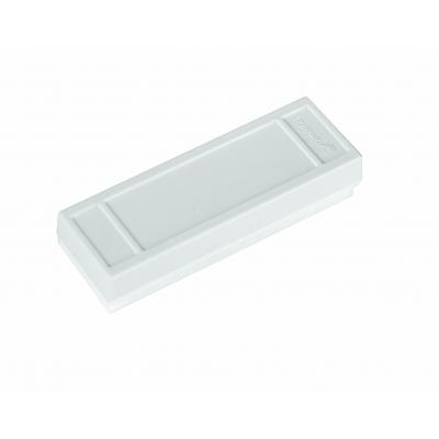 Legamaster whiteboard: Small magnetic whiteboard eraser - Wit