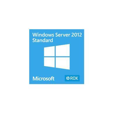 Hewlett Packard Enterprise Microsoft Windows Server 2012 R2 Standard ROK en/ru/pl/cs SW .....