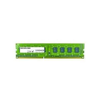 2-power RAM-geheugen: 2GB MultiSpeed 533/667/800 MHz DIMM - Groen