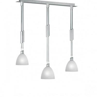 Wofi suspension lighting: SAVANNAH - Nikkel, Wit