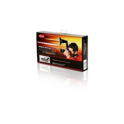 Hahnel camera flits accessoire: Universal Flash Accessory Kit for Speedlites - Zwart