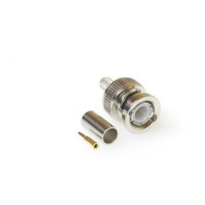 Intronics RG 58 male Crimp Connector Coaxconnector
