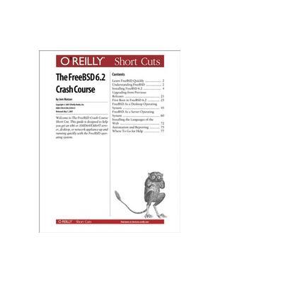 O'reilly boek: Media The FreeBSD 6.2 Crash Course - eBook (PDF)