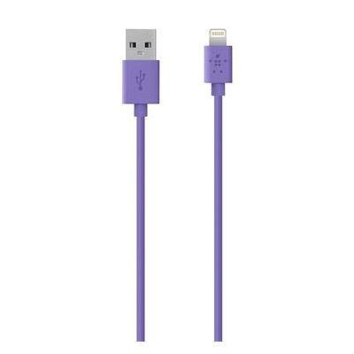 Belkin USB kabel: MIXIT↑ Lightning - USB - Paars