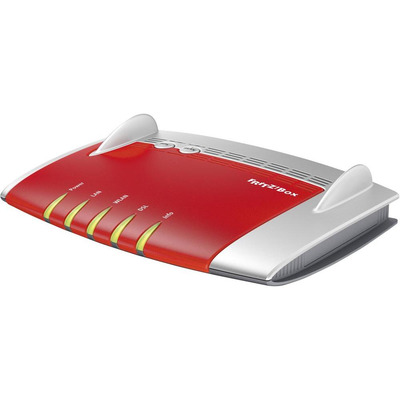 Avm wireless router: FRITZ!Box FRITZ!Box 3490 International - Rood, Wit