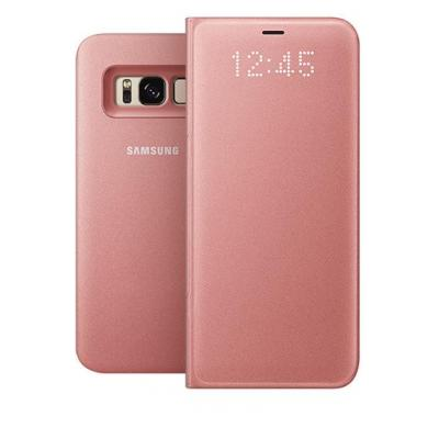 Samsung mobile phone case: Galaxy S8 LED View Cover Roze