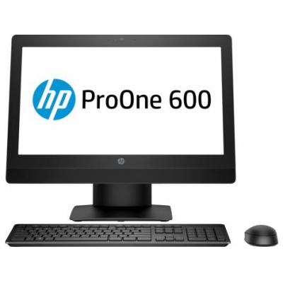 Hp all-in-one pc: ProOne 600 G3 - Zwart