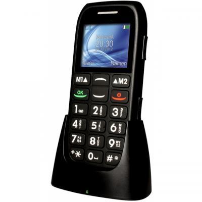 """Profoon mobiele telefoon: 4.572 cm (1.8 """") , 900/1800Mhz, SMS functie, FM, zaklamp - Zwart"""
