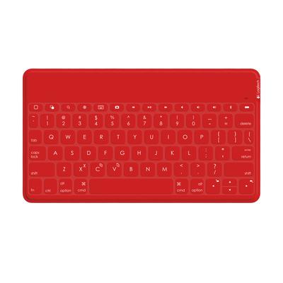 Logitech Keys-To-Go - QWERTZ Mobile device keyboard - Rood