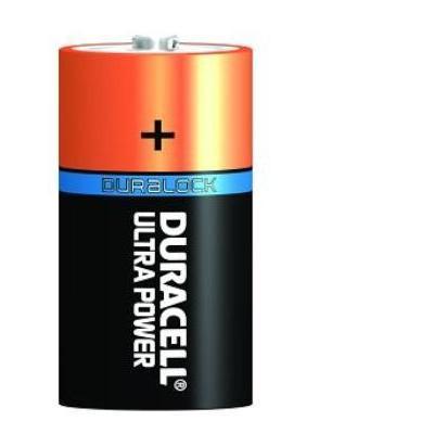 Duracell batterij: Alkaline, D, 8 Pack