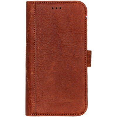 Decoded Leather Wallet Booktype iPhone Xr - Bruin / Brown Mobile phone case