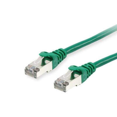 Equip Cat.6 S/FTP 0.25m Netwerkkabel - Groen