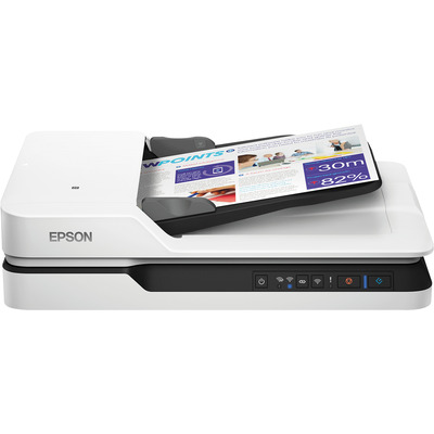 Epson WorkForce DS-1660W Power PDF Scanner - Zwart,Wit