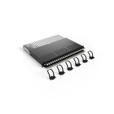 PATCHBOX ® 365 Cat.6a (STP, Black, 0.8m / 8RU) Netwerkkabel - Zwart
