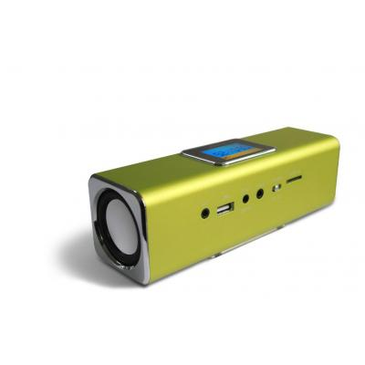 Technaxx draagbare luidspreker: MusicMan MA Display Soundstation - Groen