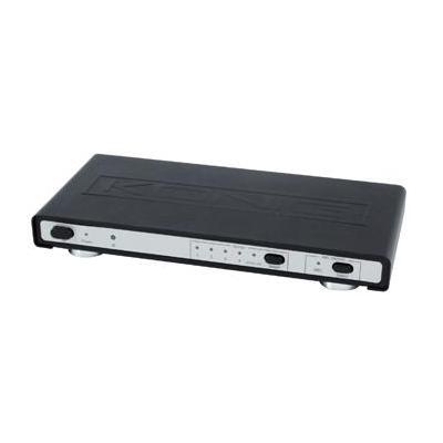 König video switch: HDMI, 1080p, Metaal, zwart