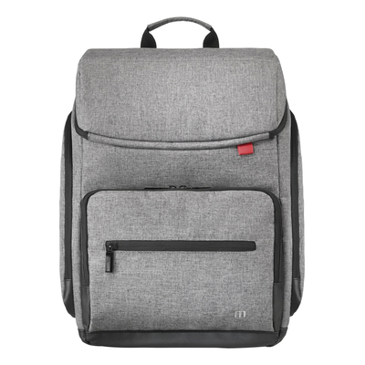"Mobilis 14""-16'', 300D polyester, grey Laptoptas"