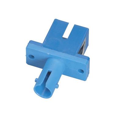 Black Box - Multimode, Simplex Fiber optic adapter - Blauw