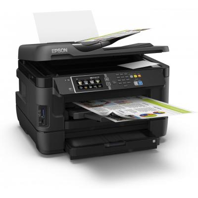 Epson multifunctional: WorkForce WF-7620DTWF - Zwart, Cyaan, Magenta, Geel