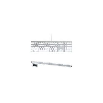 Apple toetsenbord: Keyboard met numeriek toetsenblok - Brits - Wit, QWERTY