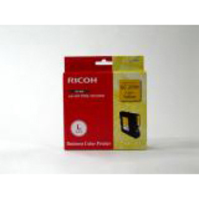 Ricoh High Yield Gel Cartridge Yellow 2.3k Inktcartridge - Geel