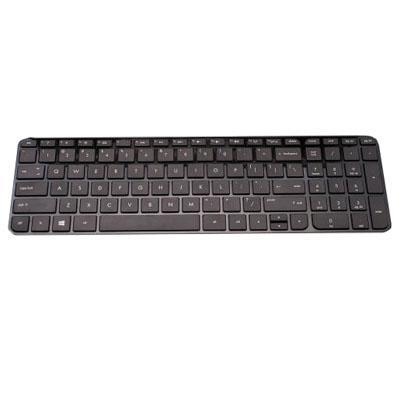 Hp notebook reserve-onderdeel: Keyboard in black finish for use in the United Kingdom (includes keyboard cable) - Zwart
