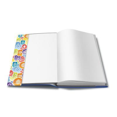 Herma tijdschrift/boek kaft: Book cover Social Icons, 260 x 540 mm - Multi kleuren