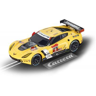 """Carrera toy vehicle: GO!!! Chevrolet Corvette C7.R """"No.3"""" - Zwart, Geel"""